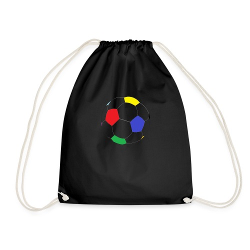 Lesser Spotted Football Logo - Drawstring Bag