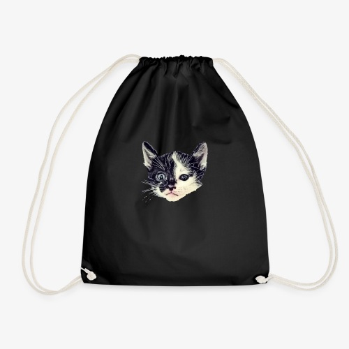Double sided - Drawstring Bag