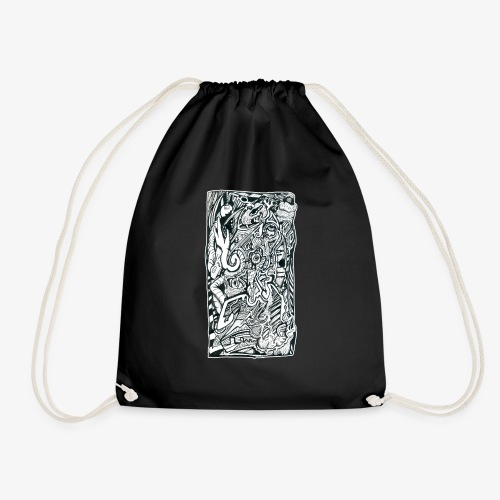 Anxiety Trip - Drawstring Bag