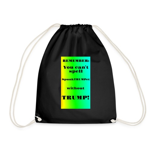 SpunkTRUMPet - Drawstring Bag