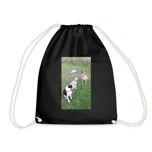 DID SOMEONE SAY SOMTHING - Drawstring Bag