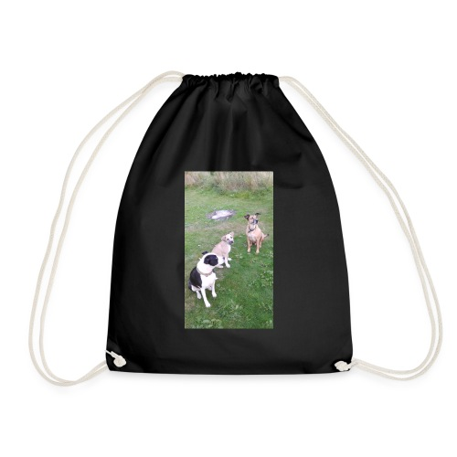 DID SOMEONE SAY SOMTHING - Drawstring Bag
