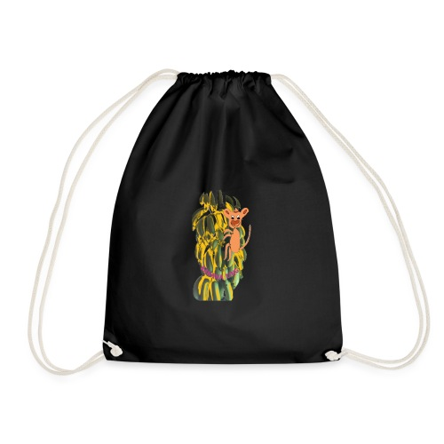 Bananas king - Drawstring Bag