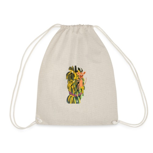Bananas king - Drawstring Bag