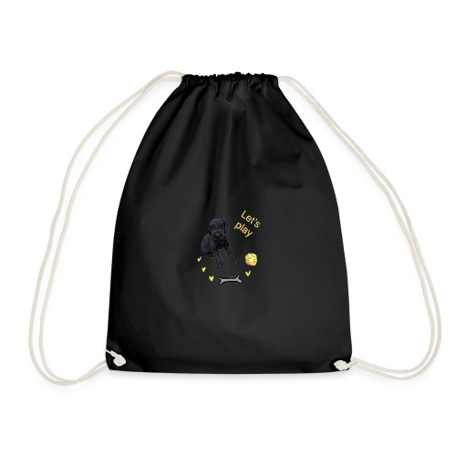 Giant Schnauzer puppy - Drawstring Bag