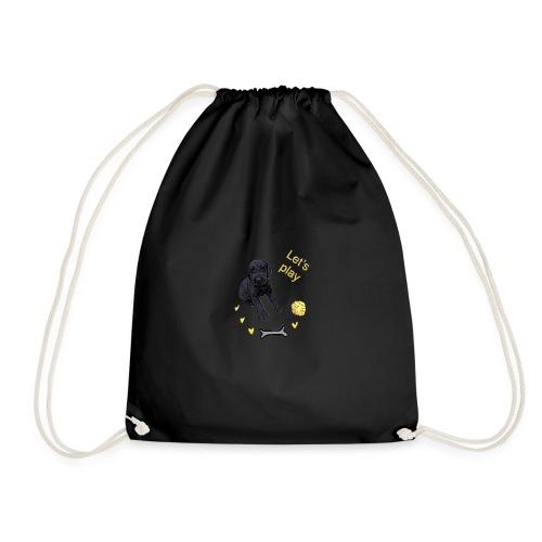 Giant Schnauzer puppy - Drawstring Bag