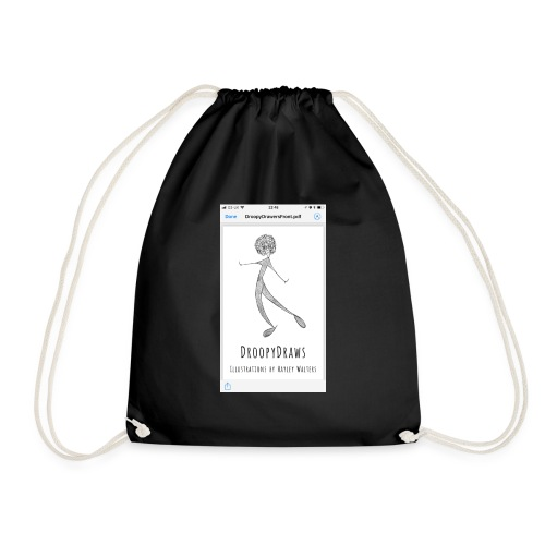 92585E4F 66C1 4A36 BECF 580E0597ED82 - Drawstring Bag