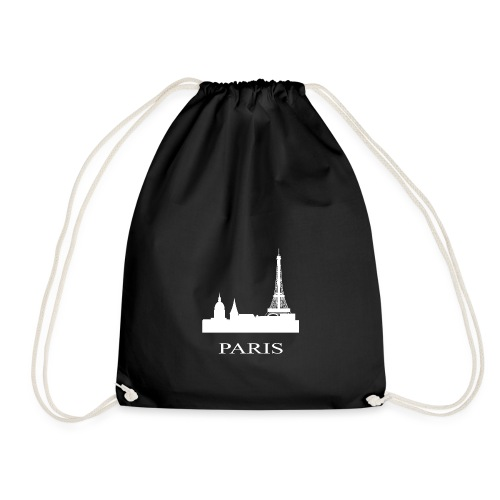 Paris, Paris, Paris, Paris, France - Drawstring Bag