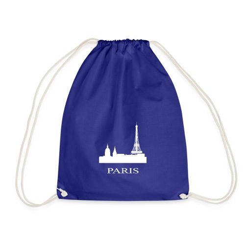 Paris, Paris, Paris, Paris, France - Drawstring Bag