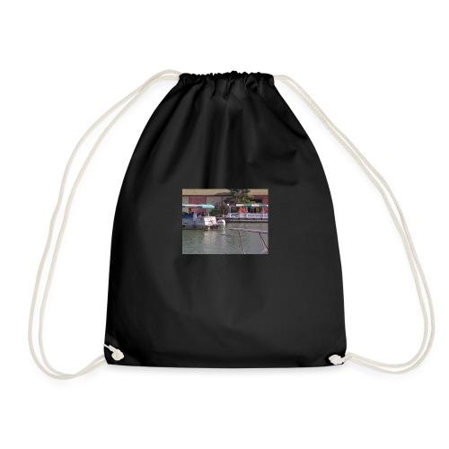 Trip up the river - Drawstring Bag