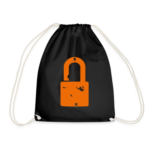 The Padlock - Drawstring Bag