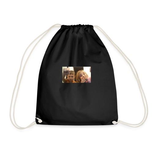 denby fist=nockout - Drawstring Bag