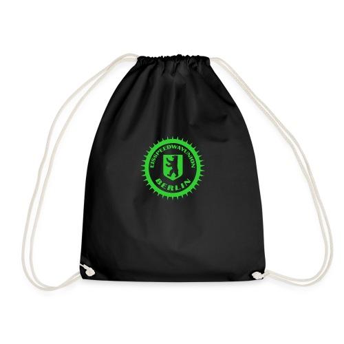 Eisspeedwayunion Logo grün zweiseitig - Turnbeutel