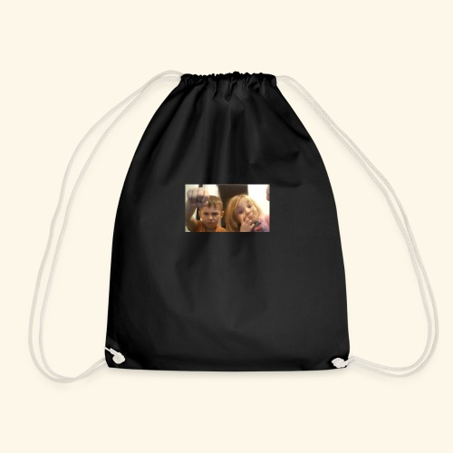 denby fist=nockout - Drawstring Bag