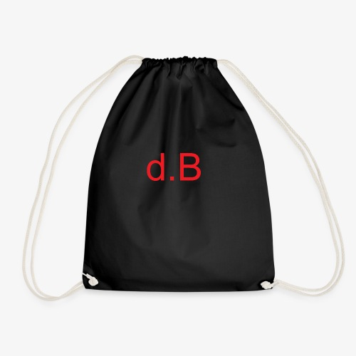 d.B RED - Sacca sportiva