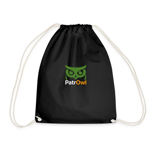 logo owl text large white - Sac de sport léger