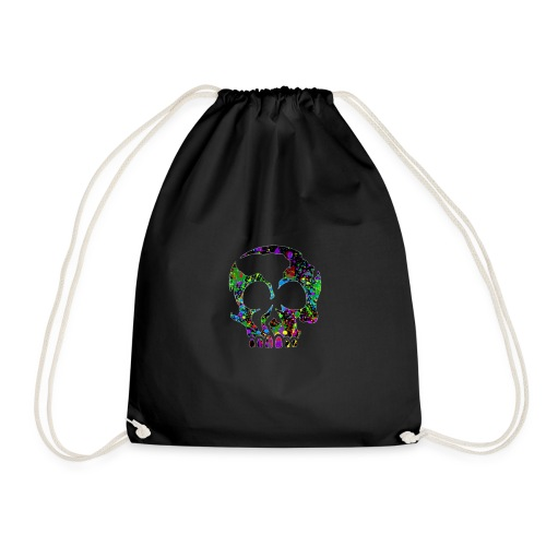 color skull - Gymtas