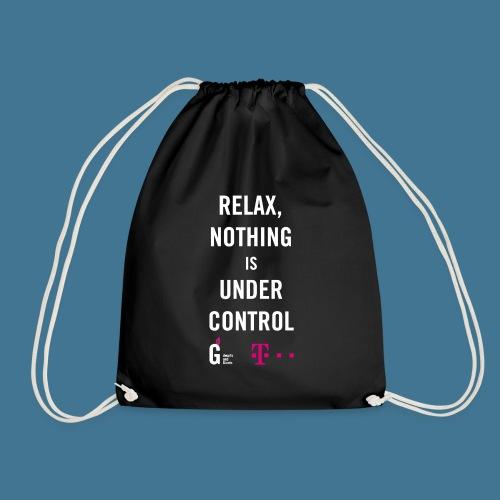 Relax weiss telekom - Turnbeutel