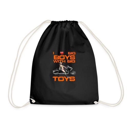 I love boys with big toys - Gymtas