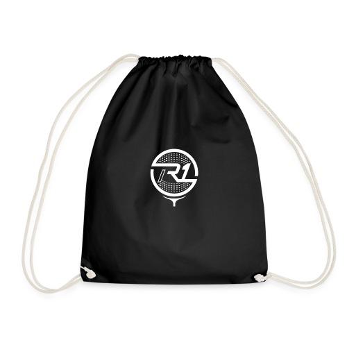logo R1 blanc - Sac de sport léger