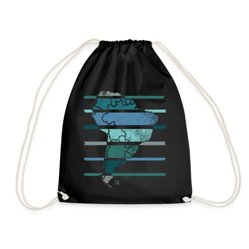 South America - Drawstring Bag