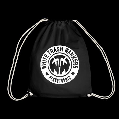 White Trash Wankers Pervotronic-Logo - Turnbeutel