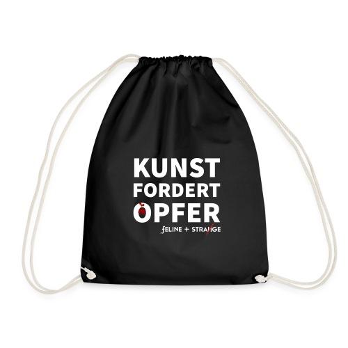 KUNST FORDERT OPFER - Turnbeutel