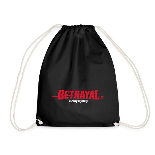 00419 Betrayal logo blanco - Mochila saco