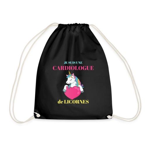 Je suis une cardiologue de Licornes Humour Cadeau - Sac de sport léger