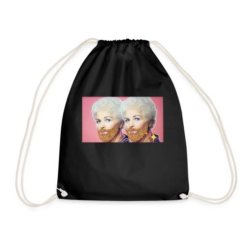 Double bubble - Drawstring Bag