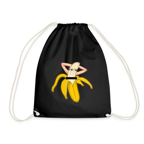 Funny banana Striptease naken banan rolig banan - Gymnastikpåse