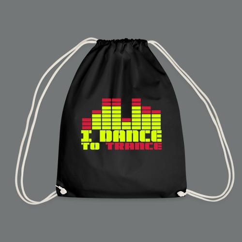 DANCE TO TRANCE - Drawstring Bag