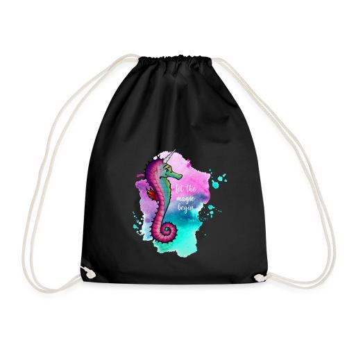 Seahorse-Unicorn - Turnbeutel