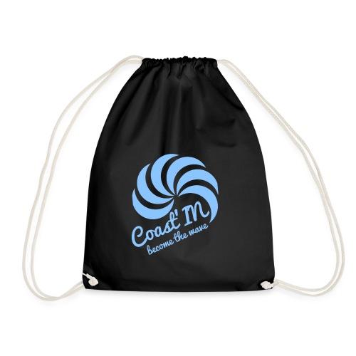 coast b strap png - Drawstring Bag