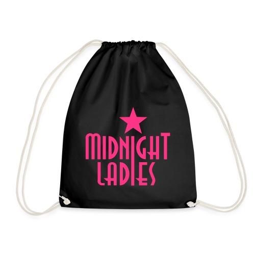 ML Logo pink - Turnbeutel