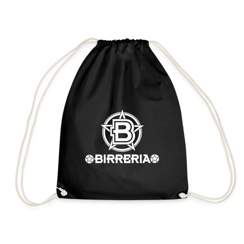 Logo Birreria 2021 white - Turnbeutel