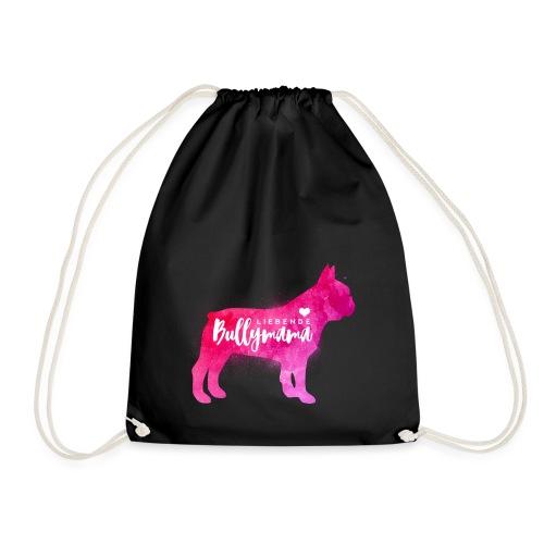 Liebende Bullymama - Französische Bulldogge - Turnbeutel