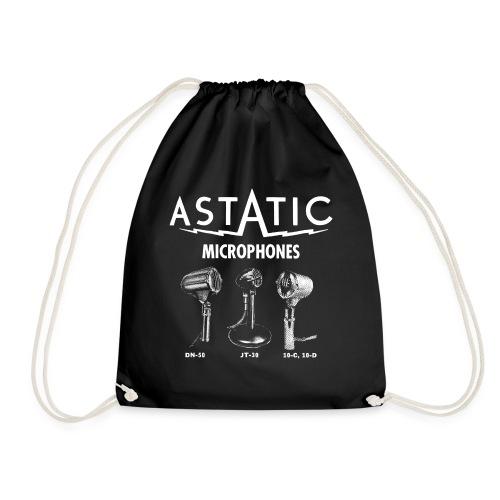 Astatic mic advert - Drawstring Bag