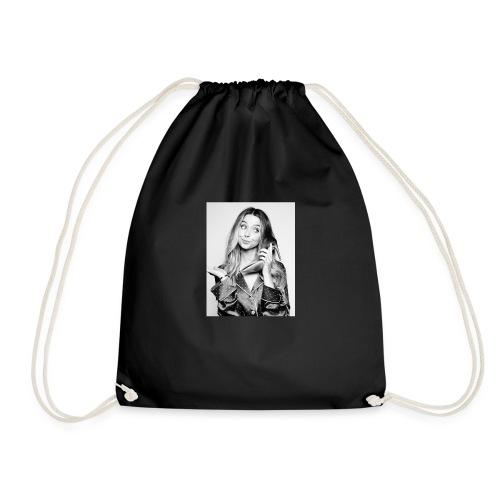 Who's at the phone? - Drawstring Bag