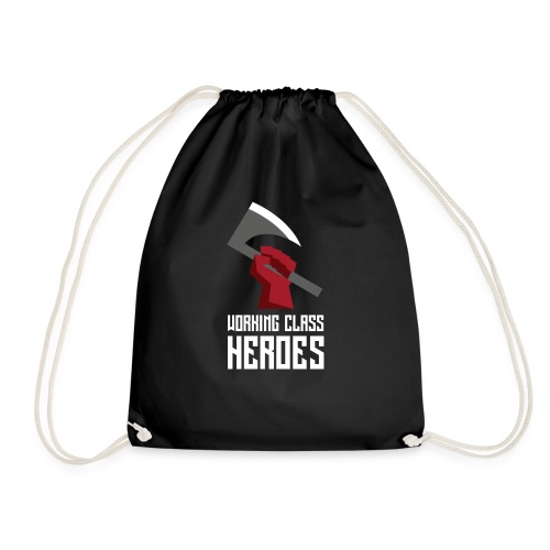 WORKING CLASS HEROES - Drawstring Bag