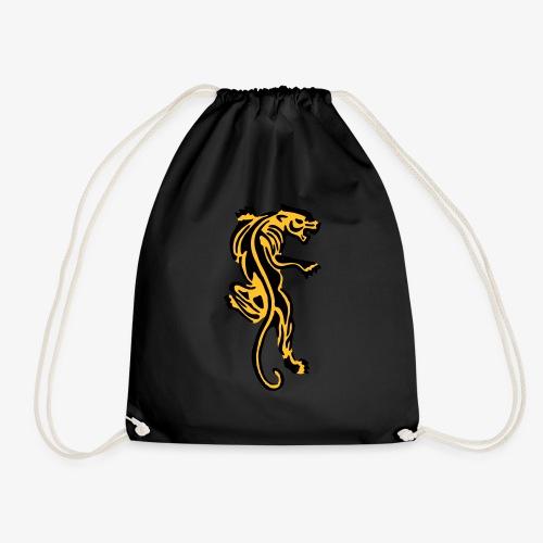 Tiger great cat design by patjila - Drawstring Bag