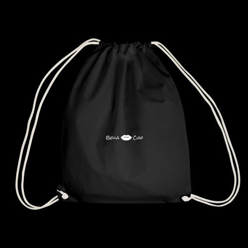 bella ciao - Drawstring Bag