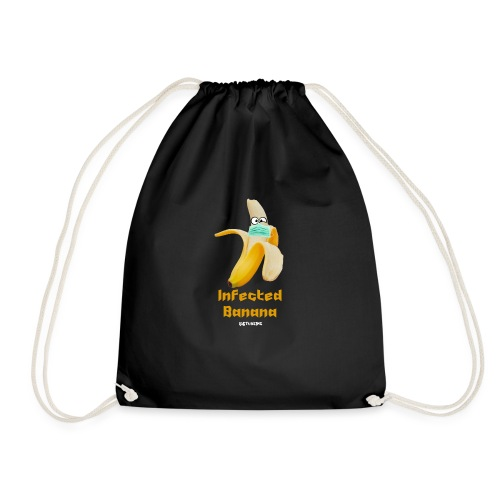 Die Zock Stube - Infected Banana - Turnbeutel