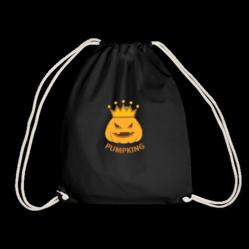 Kürbis König   Kürbisgesicht Krone Halloween - Turnbeutel