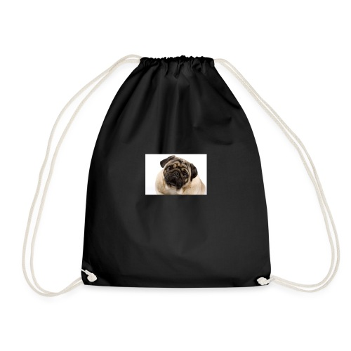Best pug ever - Drawstring Bag