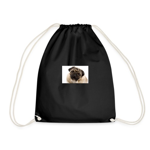 Best pug ever - Drawstring Bag