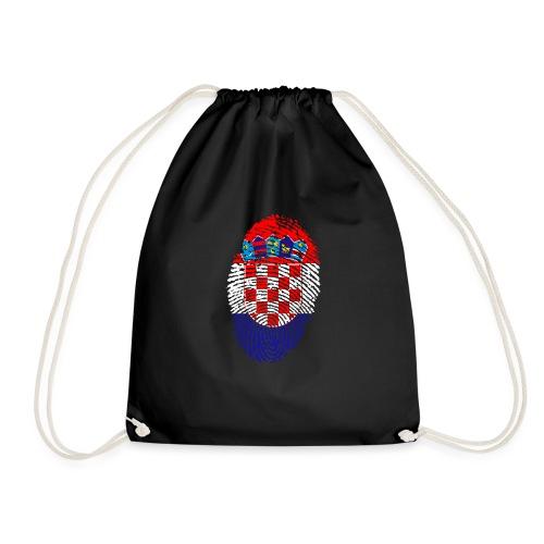 T-shirt imprimé drapeau Croatie - Sac de sport léger