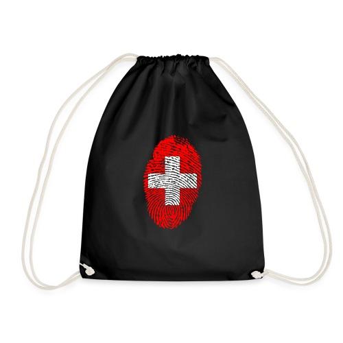 T-shirt imprimé drapeau suisse - Sac de sport léger