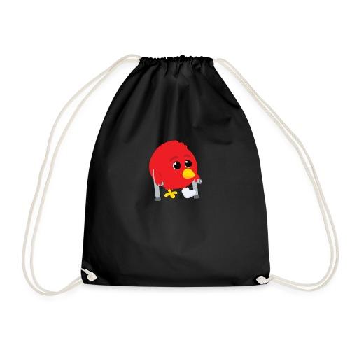 Oiseau rouge blessé - Sac de sport léger