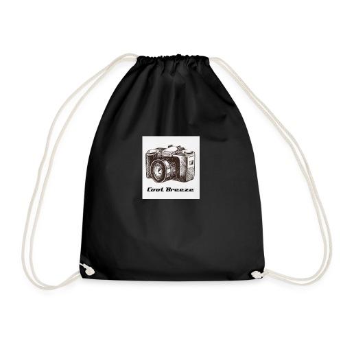 Cool Breeze logo - Drawstring Bag